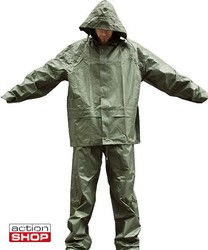 Mil-Tec Waterproof suit (pants + jacket) olive