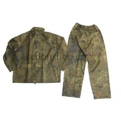 Mil-Tec Waterproof suit (pants + jacket) flecktarn