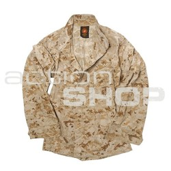 USMC DESERT MARPAT field jacket, used