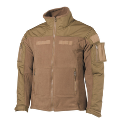 Bunda Combat Fleece jacket, tan