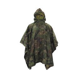 US poncho, woodland, like new