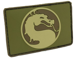 Patch Mortal Kombat (Tan)