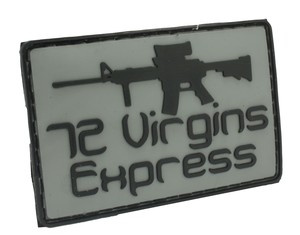 Patch 72 Virgins Express (Gray)