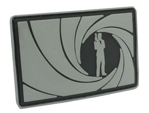 Patch James Bond (Gray)