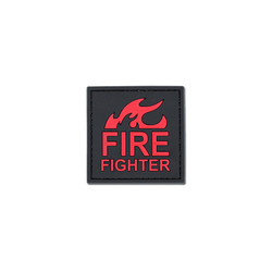 3D PVC Patch - Fire Fighter
