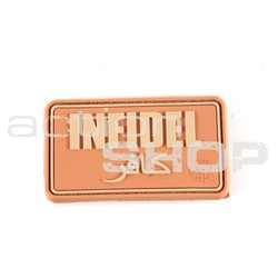 Patch Infidel Small Coyote 3D