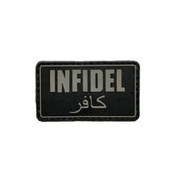 Patch infidel black - 3D