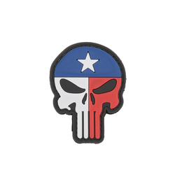 Nášivka Punisher Texas Flag