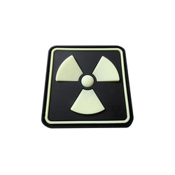 Radioactive Patch (glow in the dark), 3D