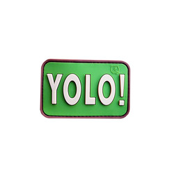 YOLO (You Only Live Once) Patch, 3D