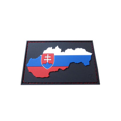 Slovakia Flag Patch special Shield Edition, 3D