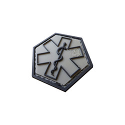 Paramedic Hexagon Patch, 3D