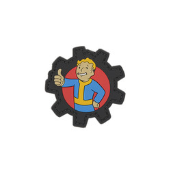 Thumbs Up Fallout Boy Patch