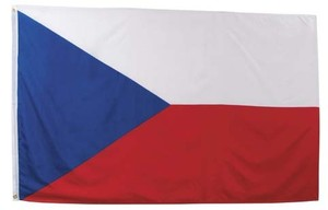 Czech Republic flag (90x150cm)