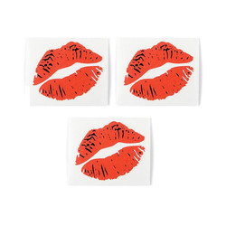 LIP SERVICE DECAL (SET OF 3)