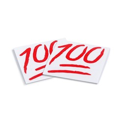 100 RED DECAL (2)