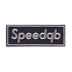 SPEEDQB BOX LOGO NÁŠIVKA - SHADOW